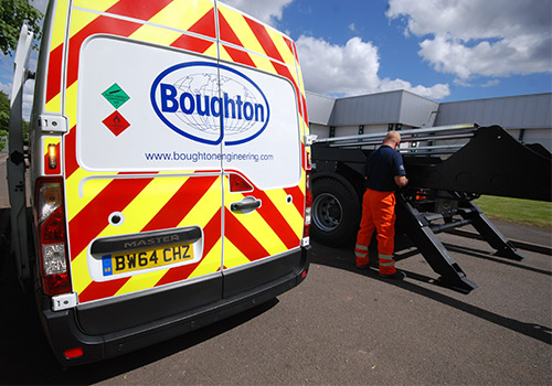 Boughton Service Engineer